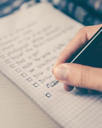 offer checklist for buying a business